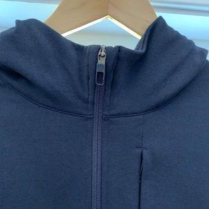 Men's Navy lulu lemon zip up hoodie